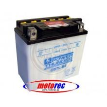 Batería Power Thunder CB7L-B2 con ácido