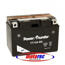 Batería Power Thunder YT12A-BS