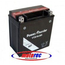 Batería Power Thunder YTX16-BS