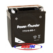 Batería Power Thunder YTX16-BS-1